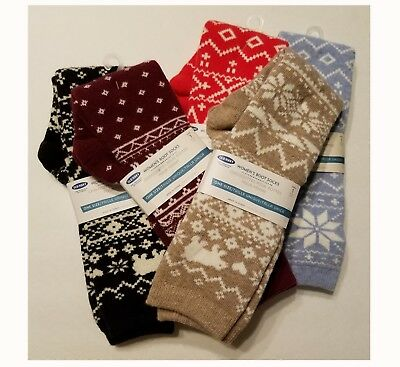 OLD NAVY WOMEN'S/GIRLS BOOT SOCKS, Long~Over-the-Calf Fit,Cute Winter Print, NWT (Girls Boot Socks)