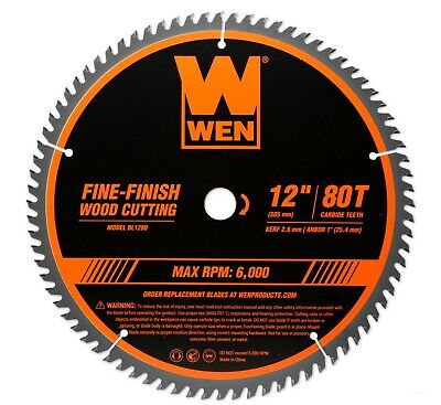 Fine Finish Blade - WEN BL1280 12
