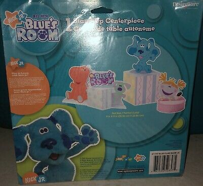 Blues Clues Room Blue's Birthday Party Supplies Decoration Centerpiece Blues Clues Party Decorations