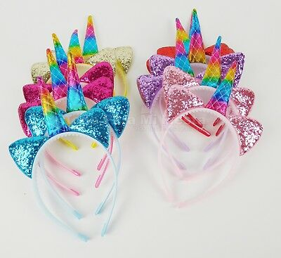 Unicorn Favors Headbands Unicorn Party Supply Girls Hair Accessories Unicornio12