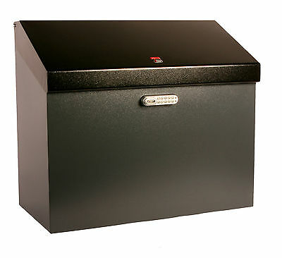 iBin Grande Parcel Delivery Box  /  iBin Postal Courier Box - Colour Grey-Black