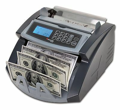 Money Bill Counter Professional Uv Currency Cash Counting Machine Bank Sorter