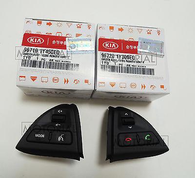 2011 2012 2013 2014 KIA PICANTO MORNING OEM Audio Handsfree Control 2EA Set