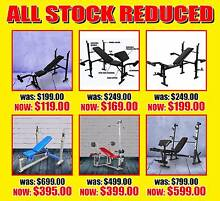 BENCH PRESS GYM FITNESS BENCHES WEIGHT BENCH FITNESS PERTH OUTLET Wangara Wanneroo Area Preview