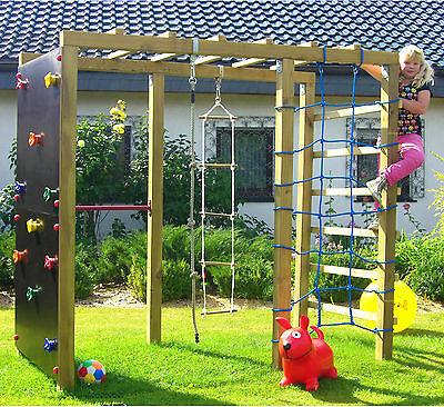 XXL Klettergerüst mit Reckstange von Spiel & Garten