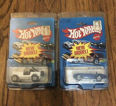 *.01 AUCTION*...LOT OF 2 VINTAGE Hot Wheels 1981..GREAT CONDITION! NIP!