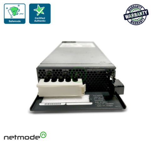 640W DC Config 2 Power Supply Spare PWR-C2-640WDC 1-Year Warranty