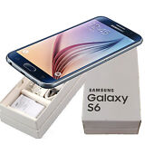 NEW SAMSUNG GALAXY S6 SM-G920A 32GB AT&T UNLOCKED BLACK SAPPHIRE SMARTPHONE