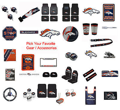 Brand New NFL Denver Broncos Pick Your Gear / Accessories Official Licensed](Denver Nfl)