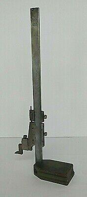 Mitutoyo Stainless Steel 10 Vernier Height Gage 506-205