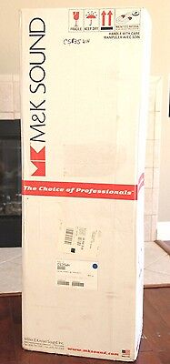 M&K CS-29 Beautiful Pair Tripole  /Dipole Column Surround Speakers VERY RARE , used for sale  Shipping to Canada