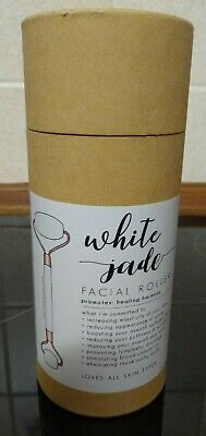 Honey Belle White Jade Facial Roller / Massager