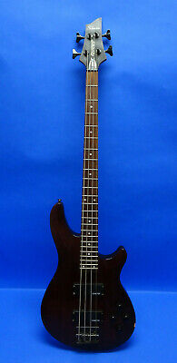 Schecter Omen-4 Electric Bass in Walnut Satin Finish ( SOLD AS IS OR PARTS )