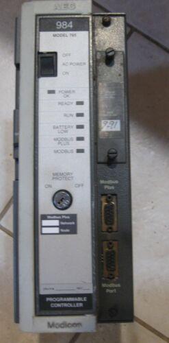 AEG Modicon Programmable Controller Rack Mount  984 Model 785   #- PC-0984-785