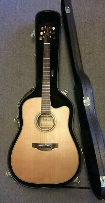 Takamine P3DC Acoustic Electric Guitar with case. NEW. FREE SHIPPING