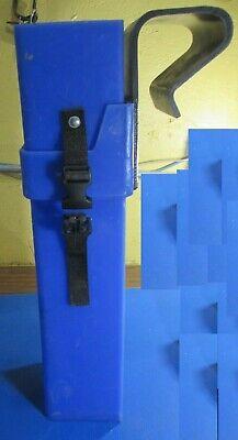 Inline Crimper Tool Bucket Truck Storage Box Burndy Patmd 18 Volt Fits