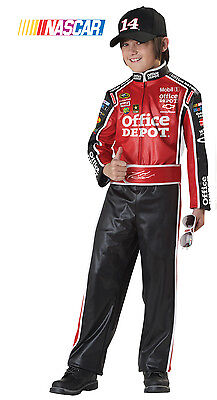 NASCAR Tony Stewart Car Racer Child Costume