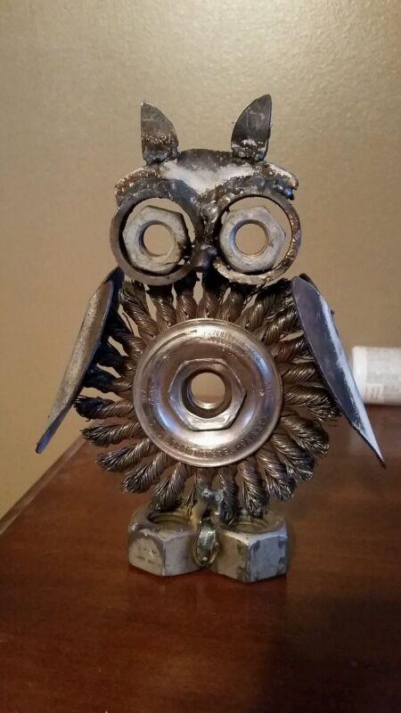 Owl weld art