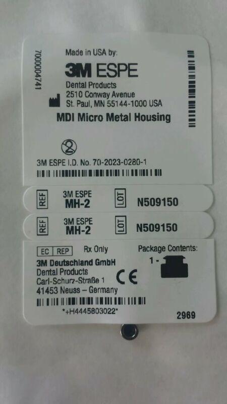 MDI Micro Metal Housing MH-2 Dental Implants 3M ESPE