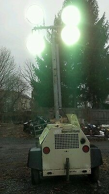 2006 Ingersoll Rand Light Source Light Plant Kubota Diesel Generator Light Tower