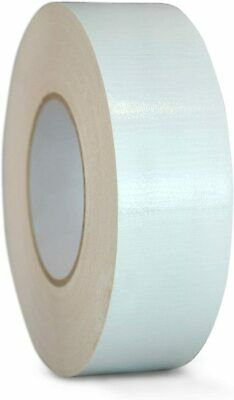Industrial Duct Tape Waterproof Uv Resistant10.2 Mil34 X60 Yd White 1 Roll