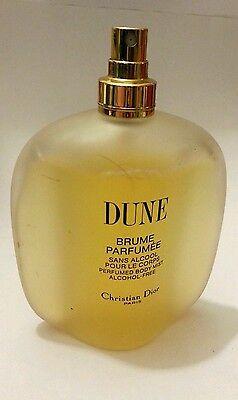 CHRISTIAN DIOR DUNE BRUME PARFUMEE 5.0 OZ. 150 ML. BODY MIST ALCOHOL FREE FRANCE