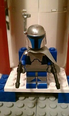 Lego Star Wars Custom Jango Fett Mercenary  - Star Wars Jango Fett Blaster