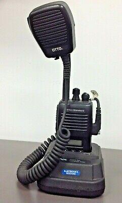 Vertex Standard Vx-180v Vhf Handheld Used Battery Mic W Charger Cd-16 No Ac