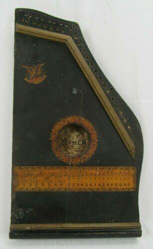 ANTIQUE Columbia Zither No. 2  harp