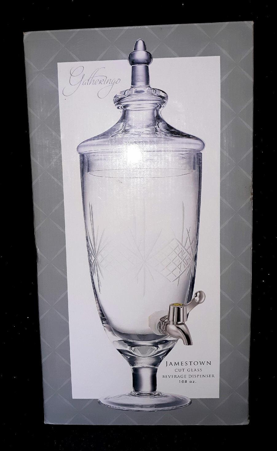 Godinger Jamestown Dispenser - 108 Oz