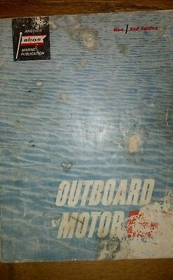 ABOS MARINE OUTBOARD BOAT MOTOR SERVICE MANUAL 2nd edition