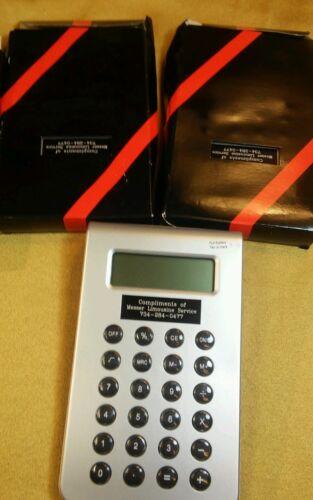 Calculator Advertising Messer Limousine Service, NIB
