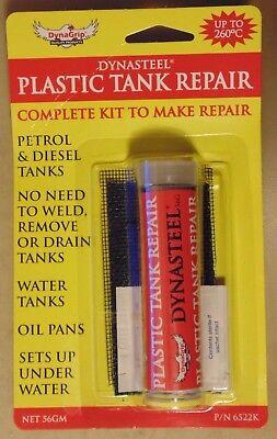 Dynasteel Plastic Tank Repair Kit for Fuel Petrol Diesel Radiator & Water Tanks