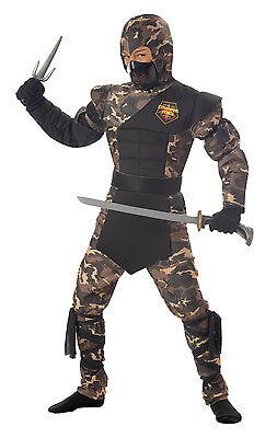 Japanese Samuri Special Ops Ninja Child Costume  (Special Ops Ninja)