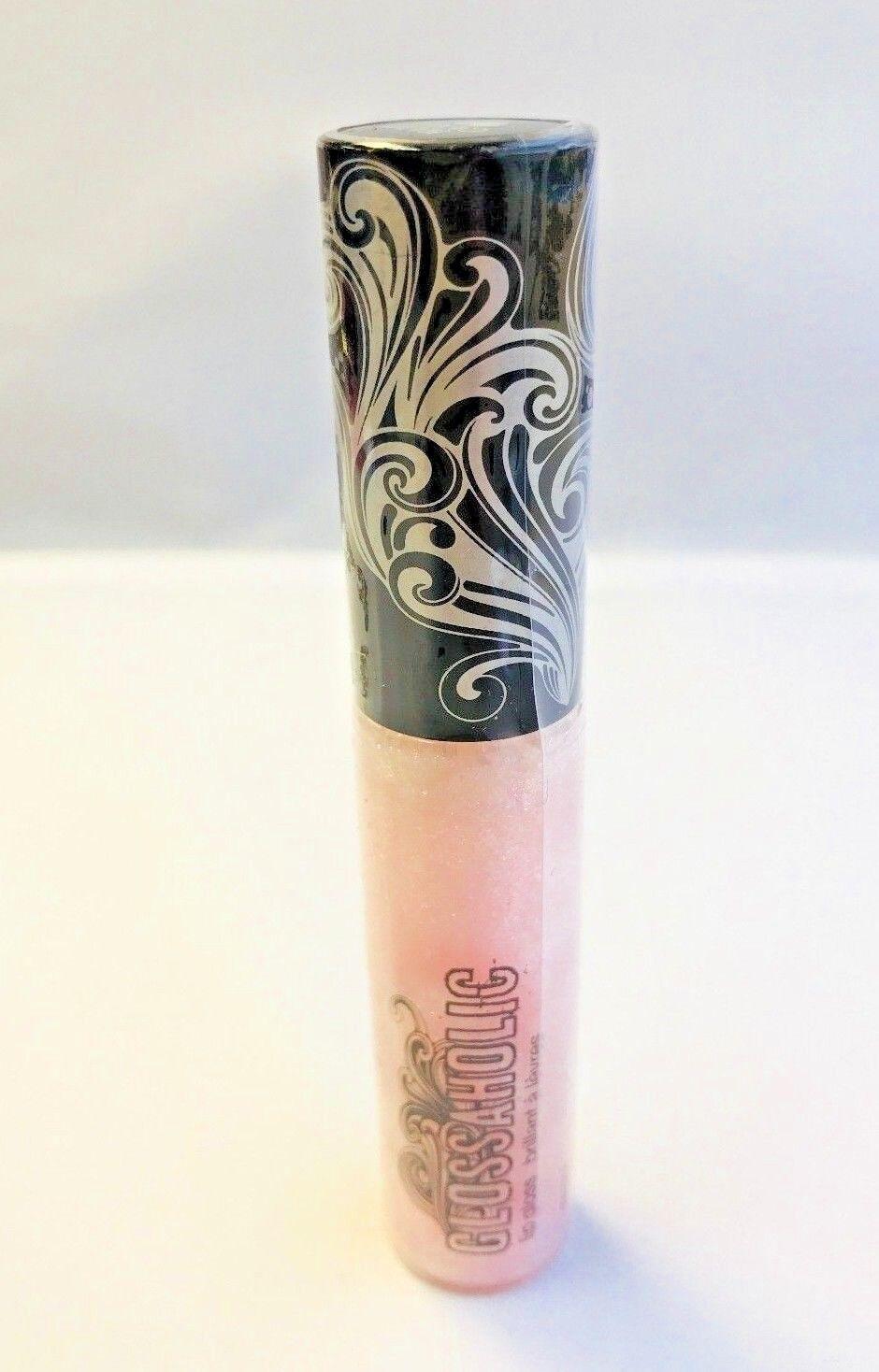 Hard Candy GLOSSAHOLIC Lip Gloss *FAIRY* 371 PINK GLITTER Se