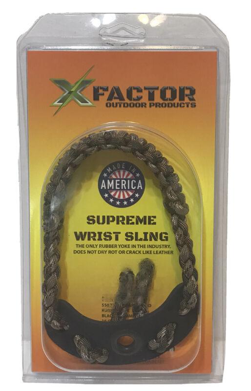 XFactor Supreme Compound Bow Archery Wrist Sling  Camo Lot EB70