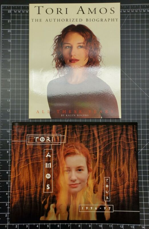 Tori Amos Boys For Pele Tour + All These Years~2 Book Lot~Neil Gaiman Story~KMJ