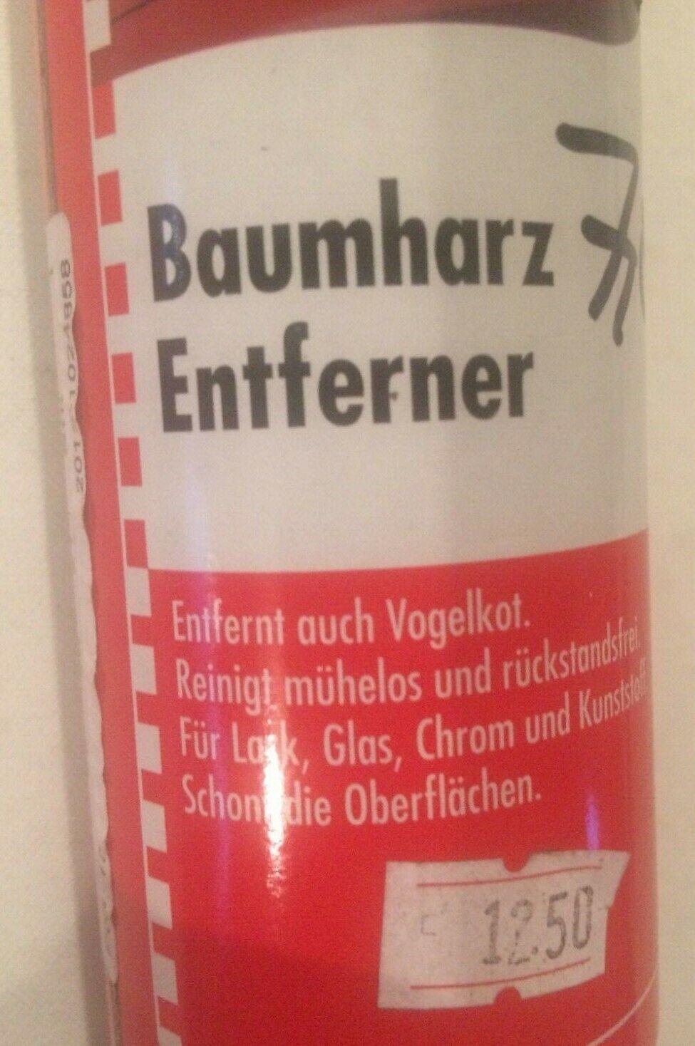 SONAX 390300 BaumharzEntferner Reiniger 400ml