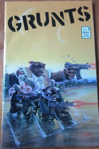 Grunts #1 Mirage Studios 1987 Comic Book