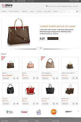 Online Shopstore Shopping Cart Ecommerce Website