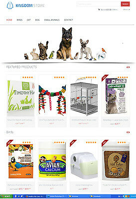 Pet Care Products Store Website - Ecommerce Amazon Affiliate