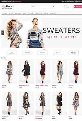 Online Shopstore Ecommerce Website