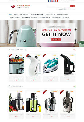 Kitchen Appliances Store - Turnkey Amazon Affiliate Website Shopping Cart