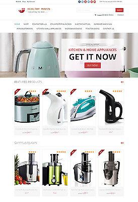 Kitchen Appliances Store - Turnkey Amazon Affiliate Website Shopping Cart