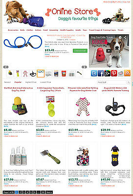 Dog Supplies Store - Amazon Ebay Commission Junction Affiliate Website