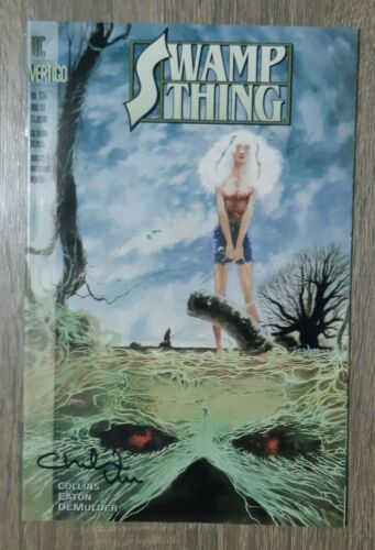 SWAMP THING #134 SIGNED CHARLES VESS  #1181 JUSTICE LEAUGE DARK