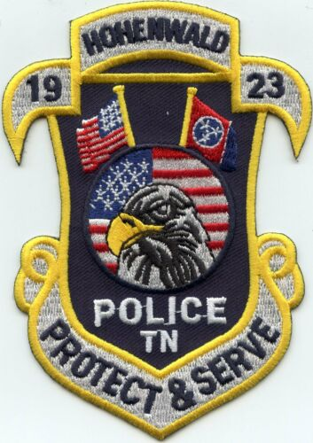 HOHENWALD TENNESSEE TN POLICE PATCH