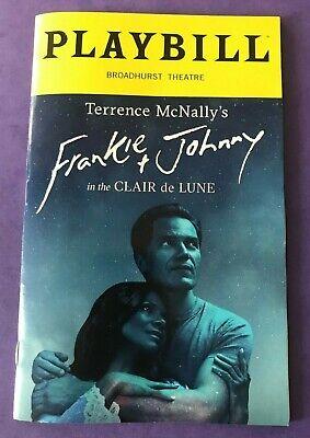 Frankie & Johnny in the Clair de Lune Playbill Audra McDonald Michael (Frankie & Johnny In The Clair De Lune)