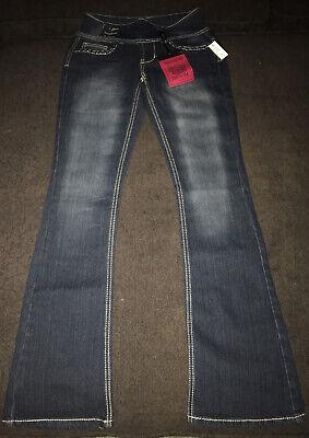 Red Rivet Juniors Premium denim Stretch Bootcut jeans Sz.1 NWT Jeans Red Bootcut Premium Denim