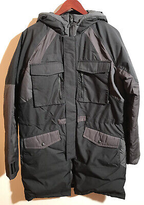 Adidas Originals By White Mountaineering Down Jacket Parka Black